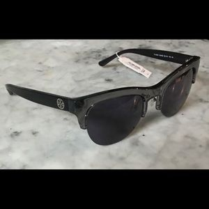 Tory Burch Black Crystal TY 9045 15442S Sunglasses
